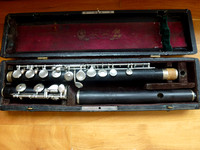 Emil Rittershausen Grenadilla Wooden Flute - Ready for a player