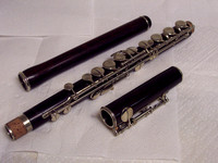 3-pieces flute back Serial Number 2326