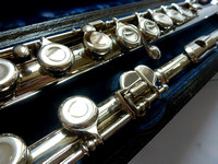 George Haynes Solid Sterling Silver Flute $sold