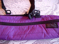 Jean Cavallaro Padded Purple Outer Carry Bag
